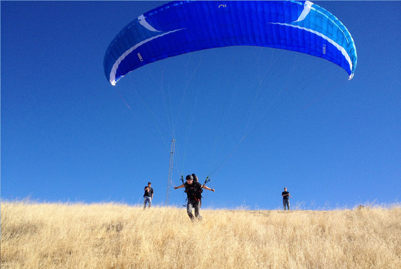 San Francisco, Bay Area Paragliding School and Lessons
