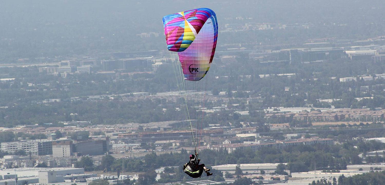 Lift Paragliding   Bay Area Paragliding School   SF Bay Area